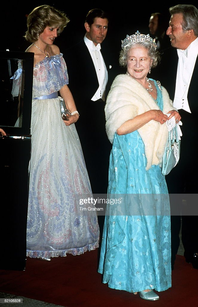 Queen Mother Charles Diana Pictures | Getty Images