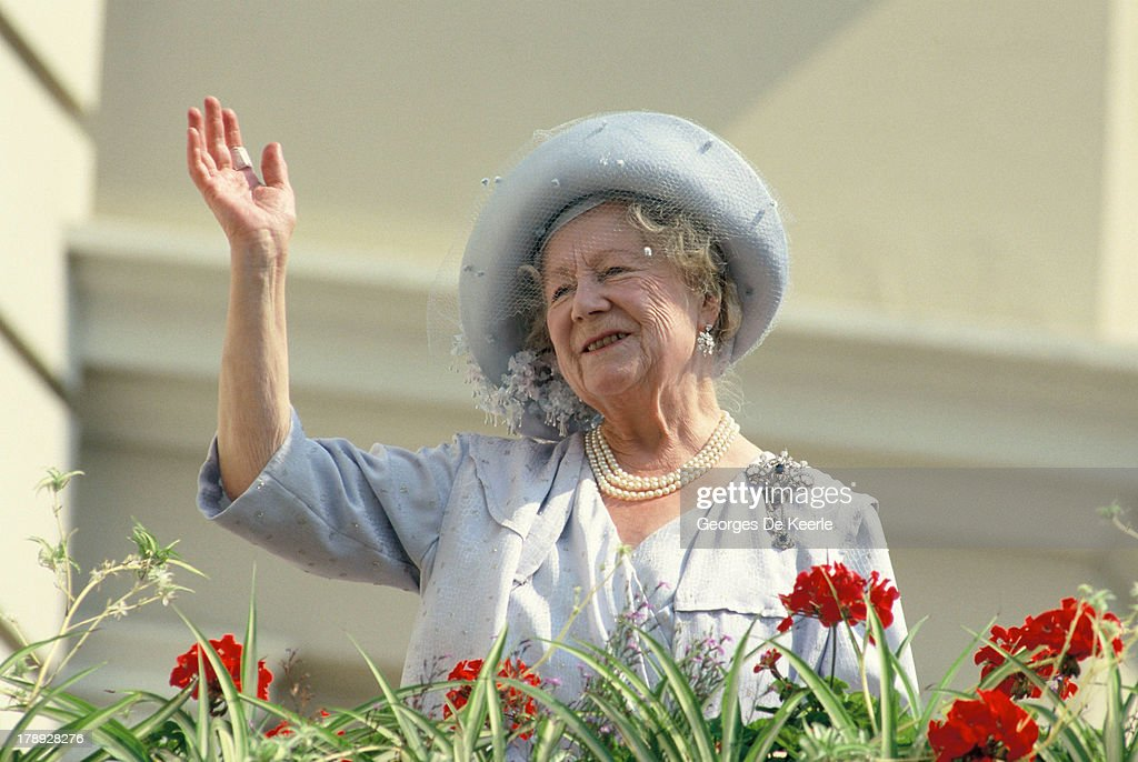 Queen Mother At 90 : News Photo