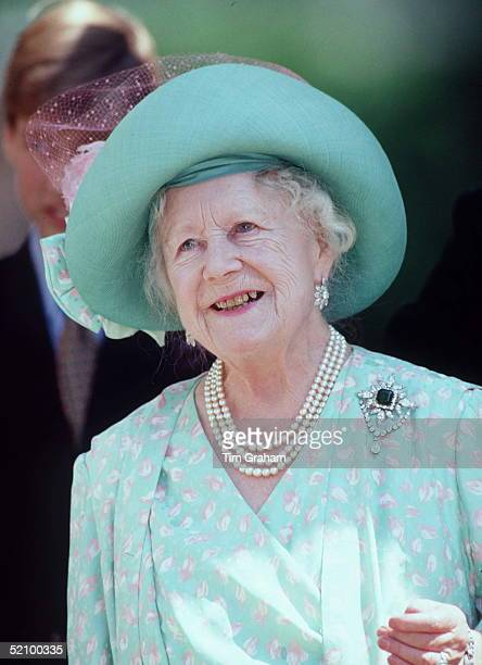 The Queen Mother's 95th Birthday At Her Home Clarence House London