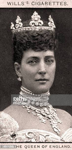 HM The Queen of England 1908 Portraits of European Royalty Wills's Cigarette Cards Bristol London