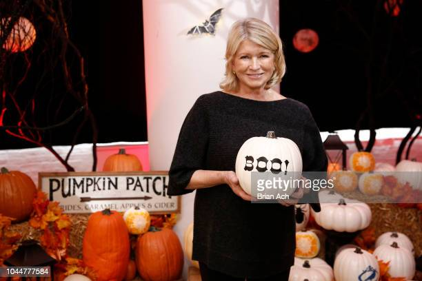 The Queen of Halloween Martha Stewart makes spectacularly spooky costumes and party accessories with Cricut and Michaels at a spirited DIY event on...