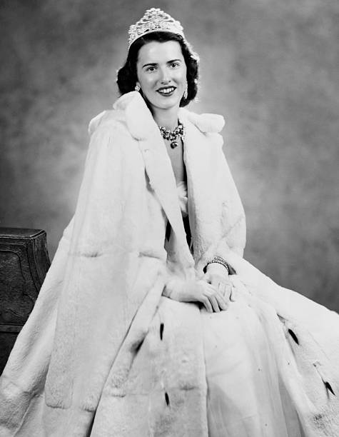 The Queen of Snows for the 1951 St Paul Winter Carnival