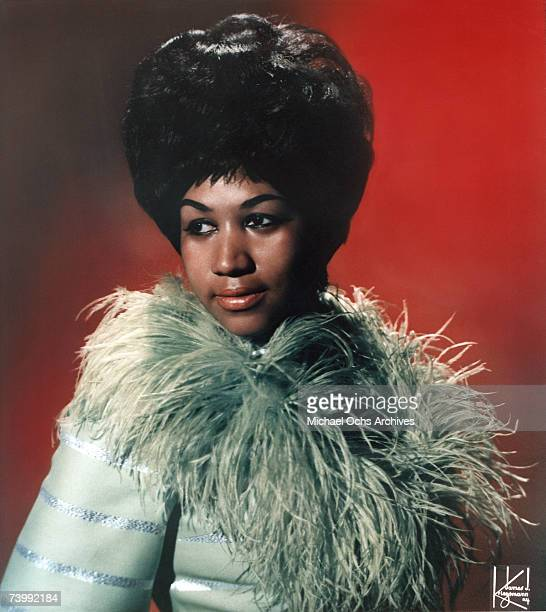 The Queen of Soul Aretha Franklin poses for a portrait with circa 1967