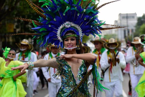 ESP: Barranquilla Carnival in Madrid