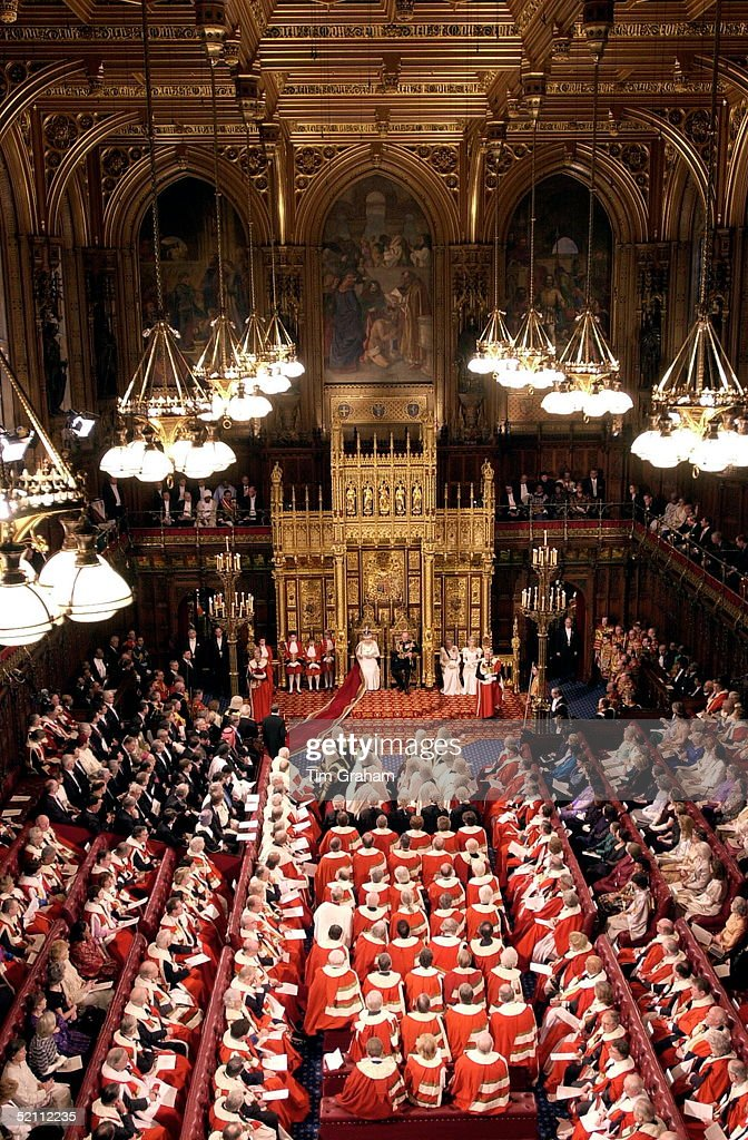 Queen In The House Of Lords : News Photo