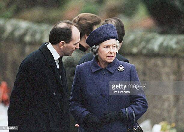 The Queen Shows Her Grief As She Visits Dunblane Primary School In Scotland Where 16 Children And Their Teacher Were Killed