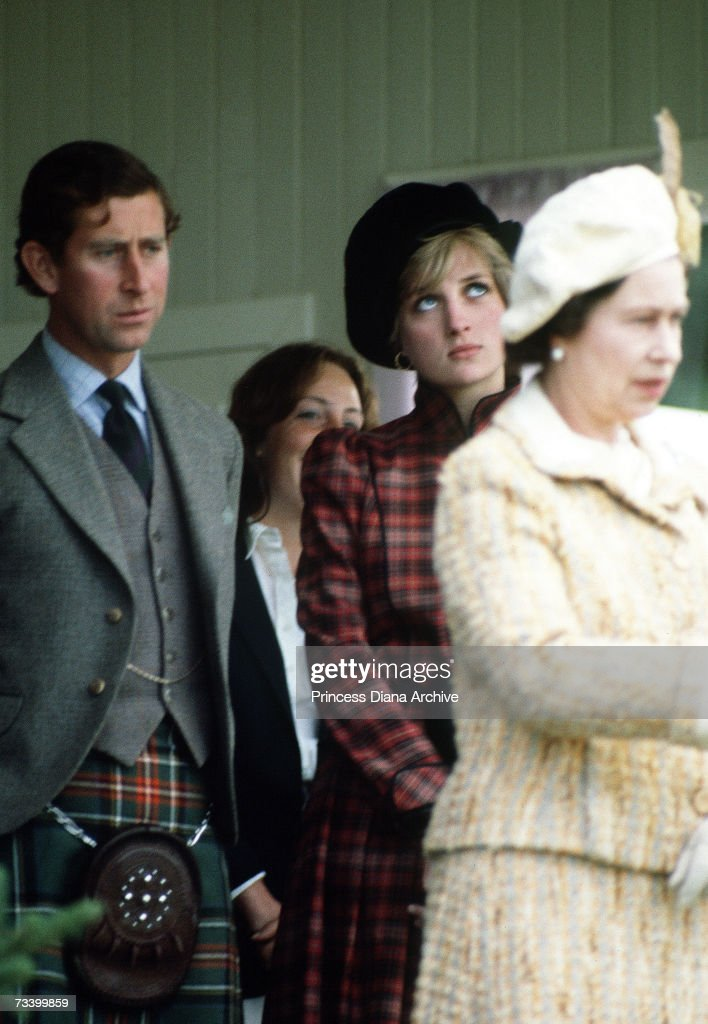 Diana In Scotland : News Photo