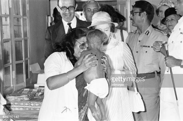 The Queen State visit to Bangledesh 14th to 17th November 1983 Visit to Save The Children centre in Dhaka Bangledesh 16th November 1983 Being...