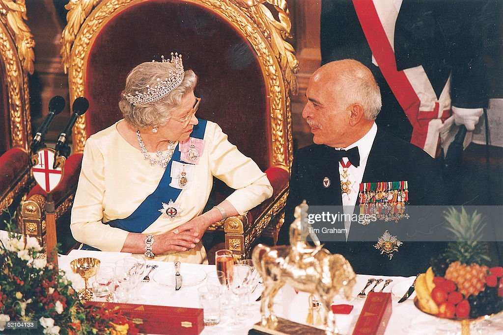 Queen And King Hussein : News Photo