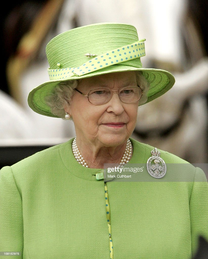 2007 Trooping Of The Colour Ceremony : News Photo