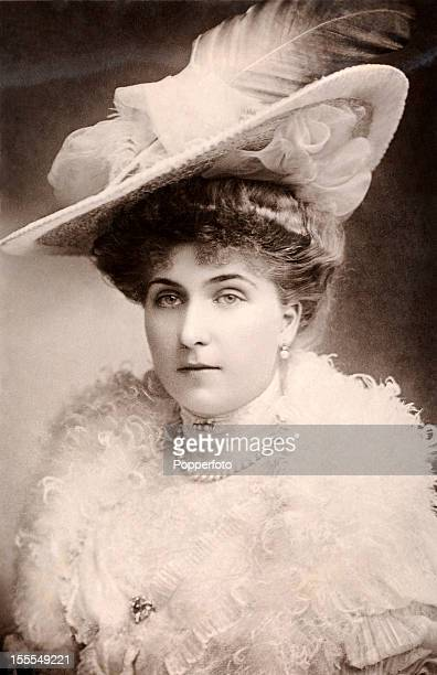 The Queen Victoria Eugenie of Spain Princess Ena of Battenberg granddaughter of Queen Victoria circa 1910