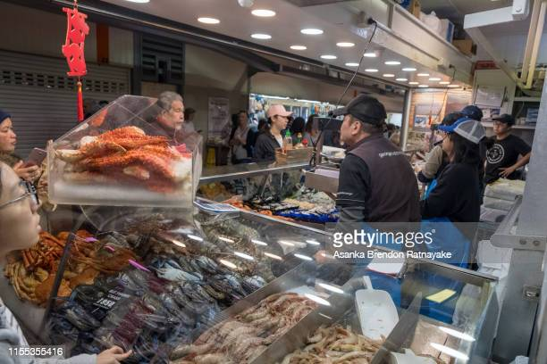 the queen victoria market - queen victoria stock pictures, royalty-free photos & images