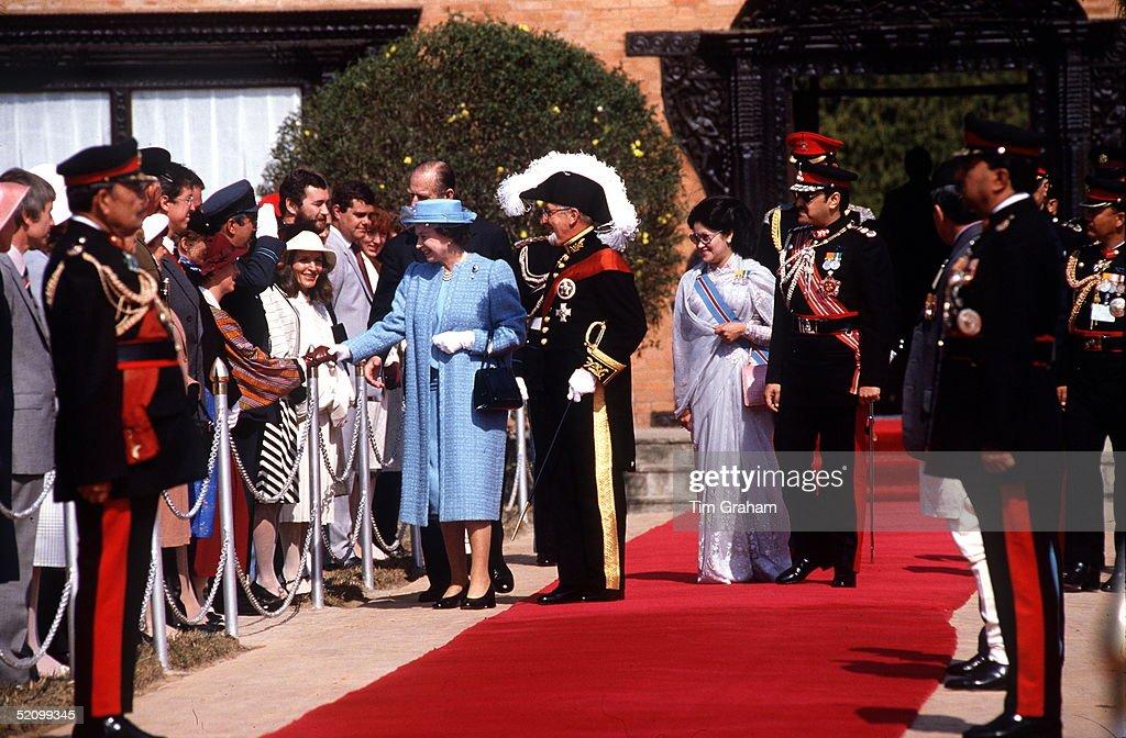 Queen Nepal : News Photo