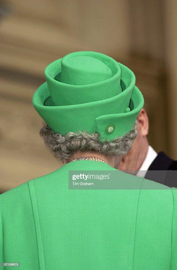 Queen Hat Backview : ニュース写真