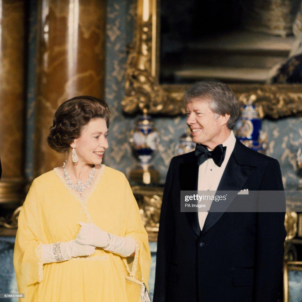 Politics - President Jimmy Carter Visit to Britain - Buckingham Palace : News Photo