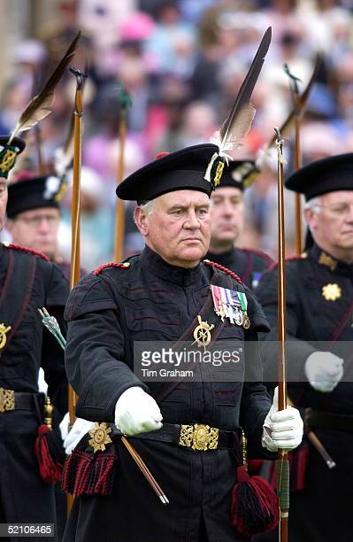 The Queen's Body Guards When She Is In Scotland The Royal Company Of Archers Taking Part In 'the Parade For The Golden Jubilee Of Her Majesty's Body...