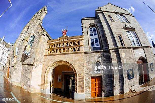the queens gallery, edinburgh - theasis stock pictures, royalty-free photos & images
