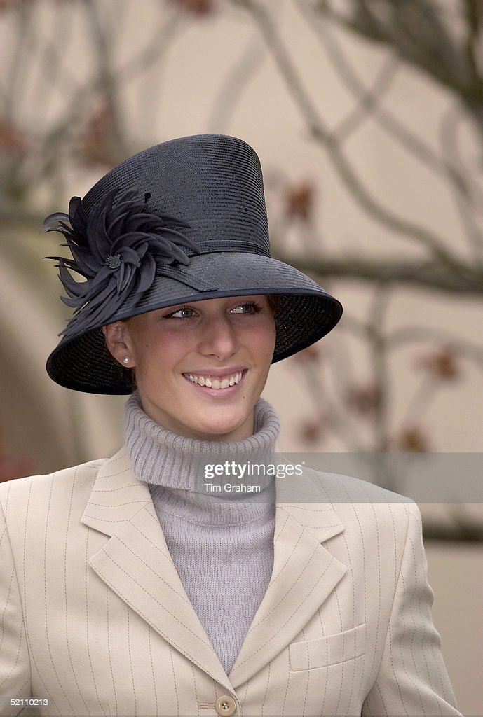 Zara Phillips Smiling : News Photo