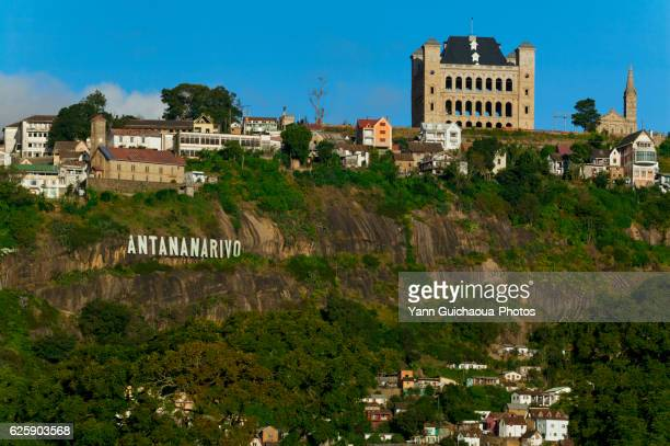 the queen's palace, antananarive,madagascar - antananarivo stock pictures, royalty-free photos & images