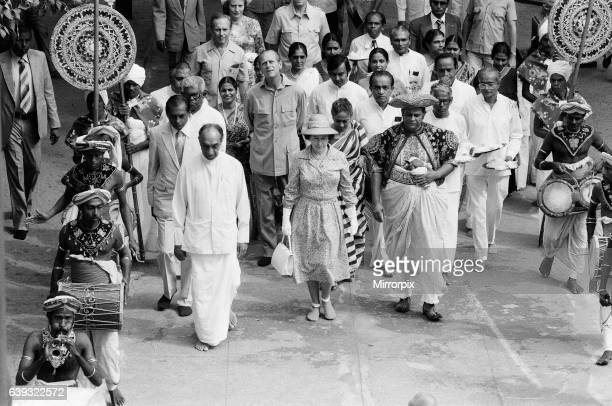 The Queens Royal vist to Sri Lanka 21st-25th October 1981. Her Majesty Queen Elizabeth II, visited Sri Lanka twice since independence, first in 1953...