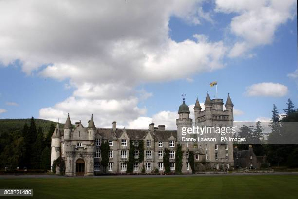 The Queen's Scottish home Balmoral Castle in Aberdeenshire