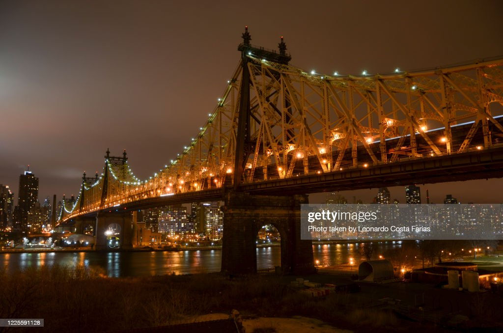 The Queensboro Bridge : Foto de stock