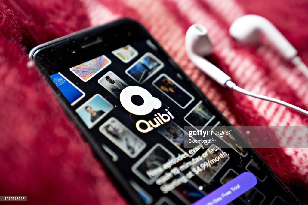 Quibi App After Raising Almost $2 Billion From World'S Biggest Media Companies : News Photo