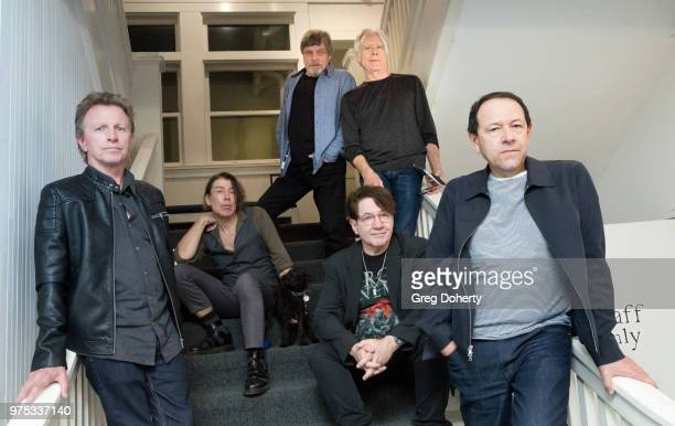 The Quick Bank Members Danny Wild Steven Hufsteter Actor Mark Hamill Ian Grey Earle Mankey and Danny Benair at Beyond Baroque Literary Arts Center on...
