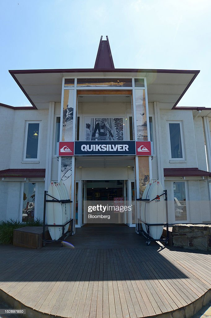 low priced 4361e 542e4 The Quiksilver Inc. store stands in Torquay, Australia, on ...