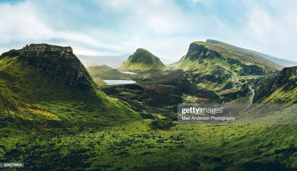 The Quiraing : Stock Photo