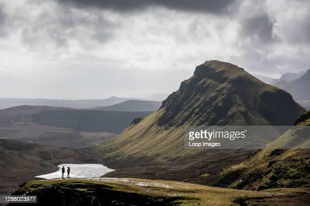 The Quiraing Ridge on the Isle of Skye in Scotland.