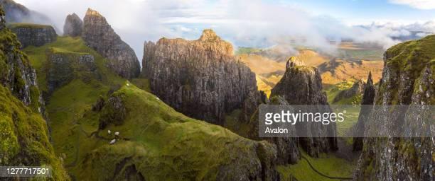 The Quiraing. Trotternish. Isle of Skye. Hebrides. Scotland. UK.