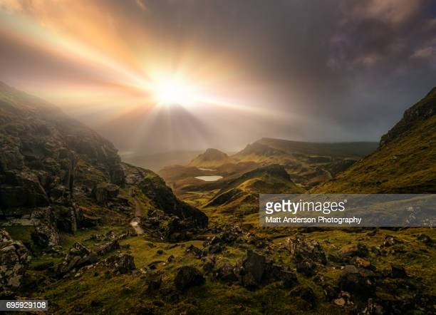 The Quiraing - Trotternish Ridge Light - Scotland #3