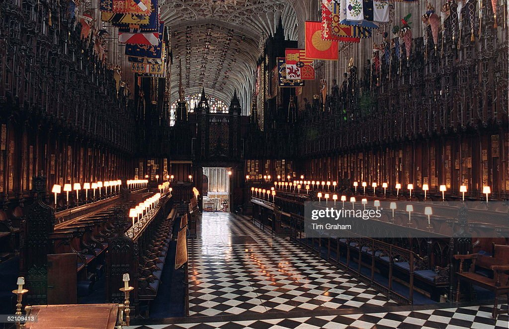 St. George's Chapel Windsor : News Photo