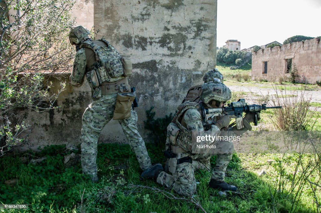 Military Exercise Personnel Recovery In Trapani : Nieuwsfoto's