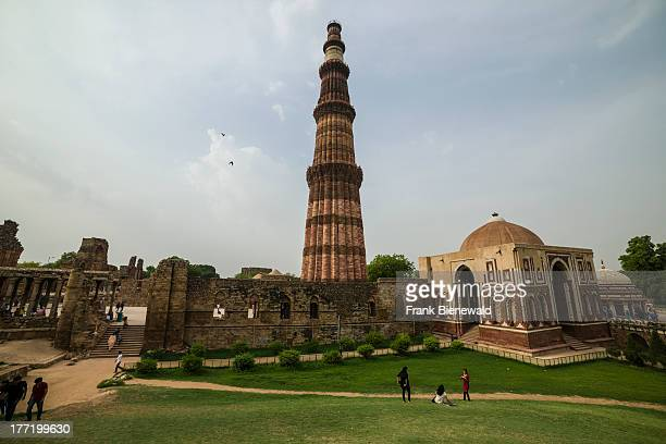 The Qutub Minar also known as Qutb Minar and Qutab Minar is an ancient Islamic Monument in Delhi The 725 metres high tower was built in 1192 by...