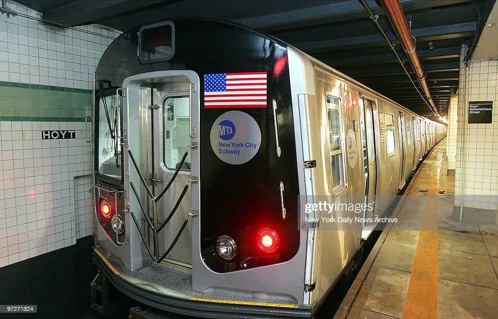 The R160 subway car, the newest member of the Metropolitan