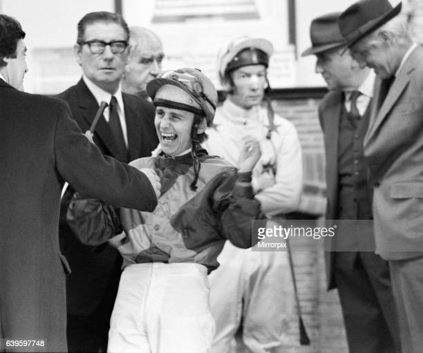 The race for the Jockeys Championship is still being contested strongly at Sandown Park between Willie Carson who is two wins behind Lester Piggott...