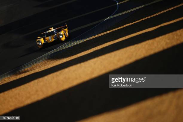 The Racing Team Nederland Dallara of Rubens Barrichello Jan Lammers and Frits van Eerd drives during the Le Mans 24 Hours race at the Circuit de la...