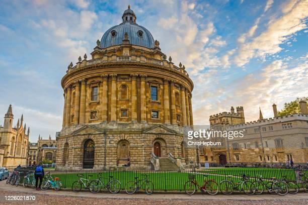 英国オックスフォード、オックスフォードシャーのラドクリフカメラとオールソウルズカレッジ - 英国 オックスフォード ストックフォトと画像