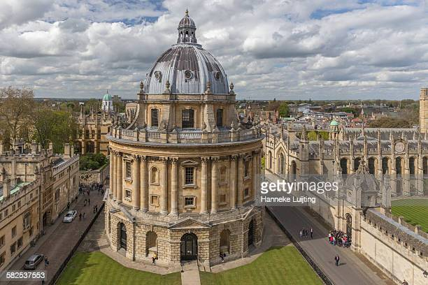 The Radcliffe Camera and the skyline of Oxford