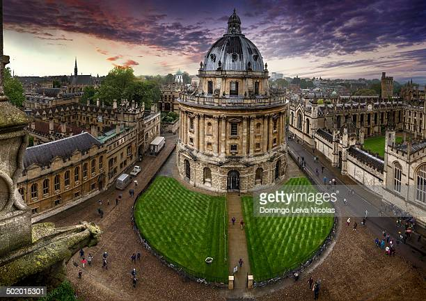 The radcliffe camera, Bodleian library.