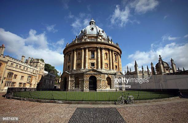 The Radcliffe Camera flanked by Brasenose College left and All Souls College right in Oxford UK Tuesday July 24 2007