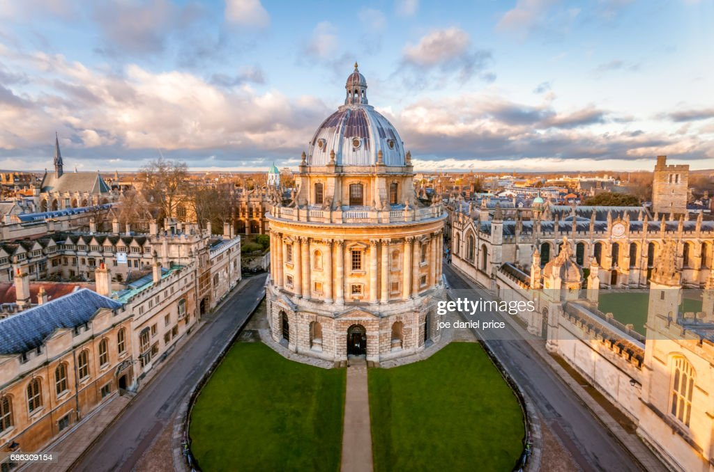 The Radcliffe Camera, Oxford, England : Stock Photo