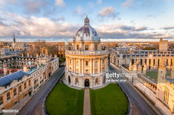 the radcliffe camera, oxford, england - oxford university stock pictures, royalty-free photos & images