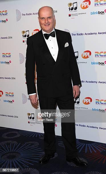 The Radio Academy Awards Grosvenor House Hotel London Britain 12 May 2014 Peter Dickson