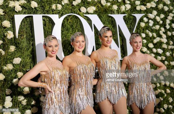 The Radio City Rockettes attend the 2017 Tony Awards at Radio City Music Hall on June 11 2017 in New York City