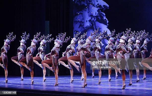 Rockettes Christmas Show.60 Top Opening Night Of The Radio City Christmas Show