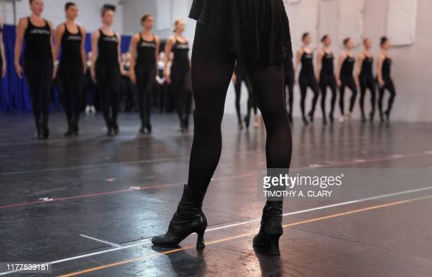 The Radio City Rockettes rehearse for the 2019 Christmas Spectacular in New York on October 22 2019 The Christmas Spectacular will run from November...