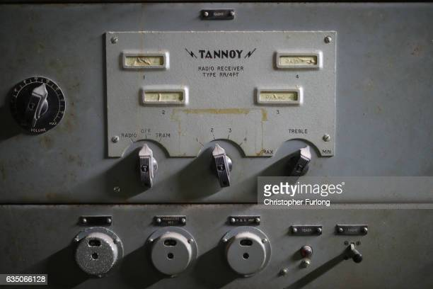 The radio communication system of the hidden fire station of a Black Country factory on February 13 2017 in Dudley England A fire station that has...